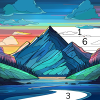 Color Flow Color by Number. Coloring games  1.12.1