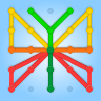 GeoBoard relaxing puzzle game drawing lines shapes  1.5.9
