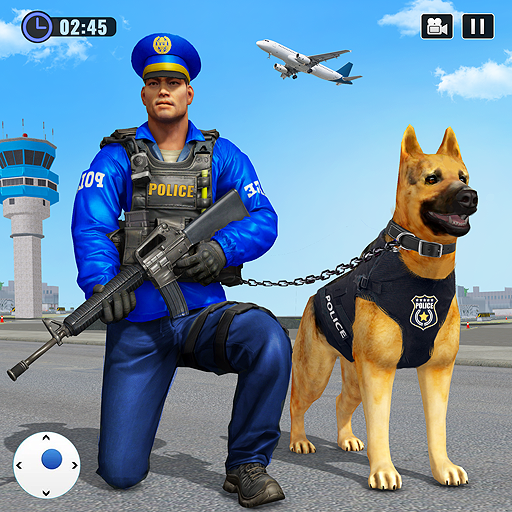 Police Dog Airport Crime Chase Dog Games  4.5