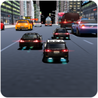 RC CITY POLICE HEAVY TRAFFIC RACER – COP CHASE  0.0.8