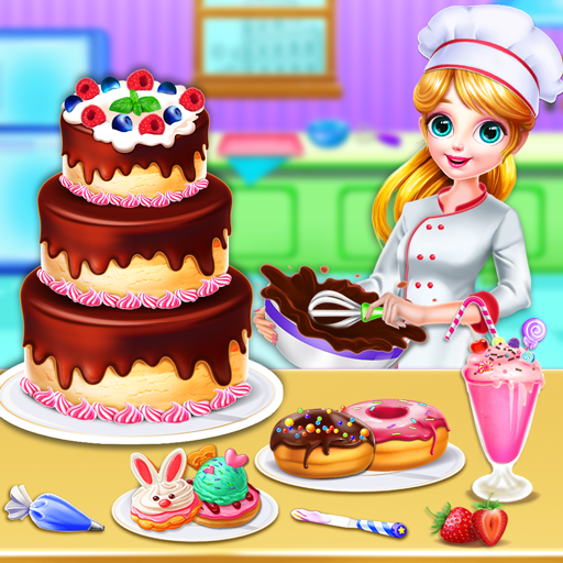 Sweet Bakery Chef Mania- Cake Games For Girls 4.5