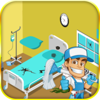 Hospital repair and cleanup  1.0