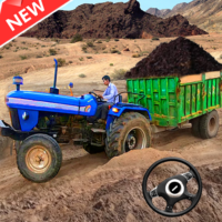 New Tractor trolley Farming Cargo Driver 3D 1.0.5