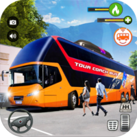 Tourist Coach Bus Highway Driving  1.1.3