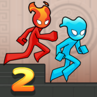 Fire and Water Stickman 2 : The Temple  0.3.4