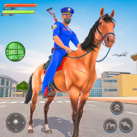 Police Horse Gangster Chase: Crime Shooting Games 10.1
